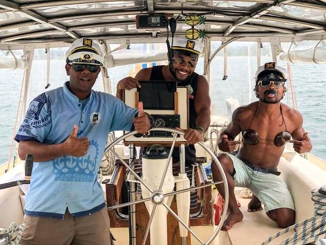 Fijian, Crew, Fantasea, Yacht, Fiji, Best Place to Stay in Fiji, Airbnb Wiki, Fiji Accommodation