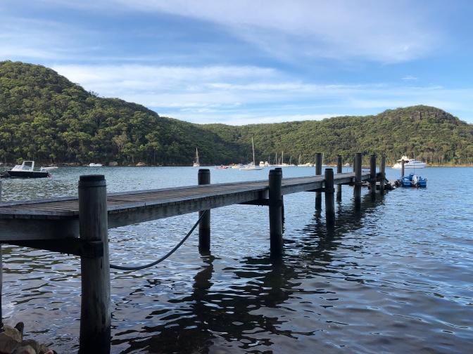 Pontoon, Morning Bay, Ku-ring-gai Chase National Park, Airbnb AU, Sydney, Australia