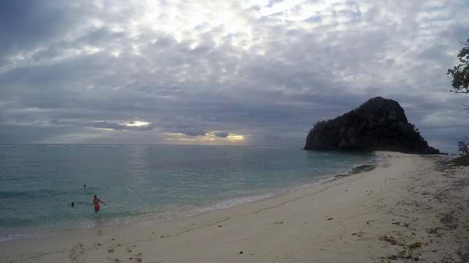 Beach photo, Castaway Island, Monuriki Island, Tom Hanks