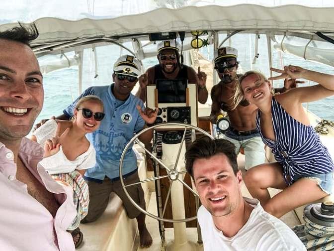 Fijian crew, sailing in Fiji, yacht, Fiji